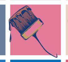 Pop Paintbrush Sticker