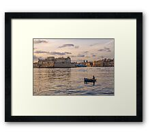 The Grand Harbour Framed Print