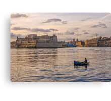 The Grand Harbour Canvas Print