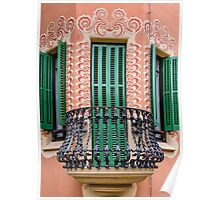 Antoni Gaudi's House Poster