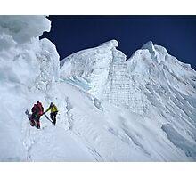 Langtang Ri summit ridge Photographic Print