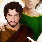 Saint Matthew the Apostle by Rowan  Lewgalon