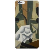 Juan Gris,  THE WHITE TABLECLOTH iPhone Case/Skin