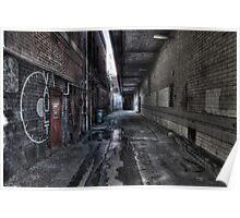 Alleyway, Bendigo Poster