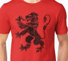 Black Lion Rampant Unisex T-Shirt