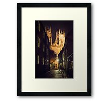 York Minster at Night Framed Print