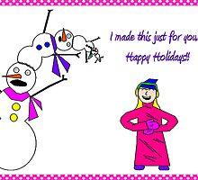 Those Poor Poor Snowmen... by Shawna Rowe
