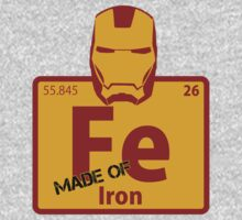 Iron Man - Made of Iron by TheQuickTech