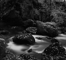 Below Colwith Force- Infra Red by Mark Haynes Photography