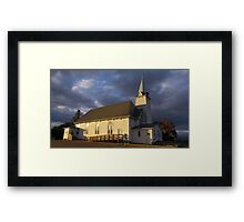 St. Columba Framed Print