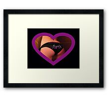 ode to the great paris tulsa...... Framed Print