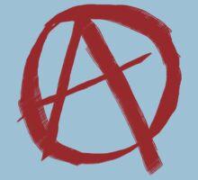 Anarchy Symbol Graffiti Style Kids Clothes