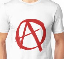 Anarchy Symbol Graffiti Style Unisex T-Shirt