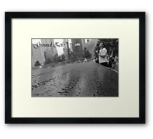 Ground Zero Framed Print