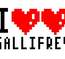 I heart heart Gallifrey 8-bit by tcmedusa