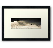Drifting Dune (duotone) Framed Print