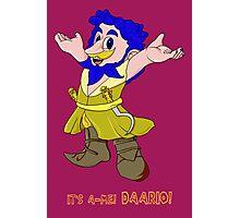 It's a-me Daario Photographic Print