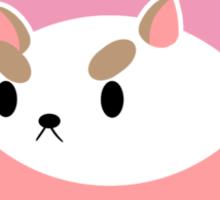 Part Puppy Part Cat Sticker