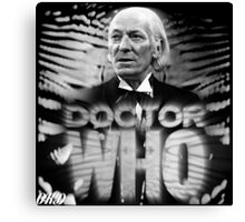 Doctor Who 50th Anniversary - First Doctor Canvas Print