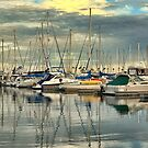 Silver Marina by RichCaspian