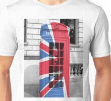 Union Jack Phonebox Unisex T-Shirt