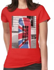 Union Jack Phonebox Womens Fitted T-Shirt