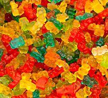 Colorful jelly bears by Daniele Zighetti