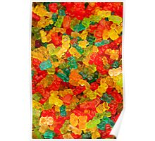 Colorful jelly bears Poster