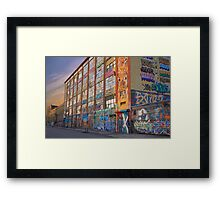 5-Pointz Framed Print