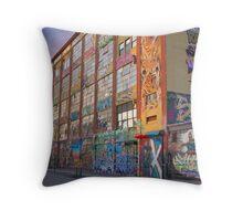 5-Pointz Throw Pillow
