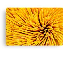 Spaghetti, italian food Canvas Print