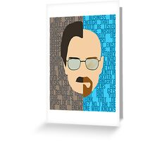 Breaking Bad, Walter White Greeting Card