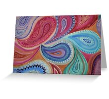 Perfectly Paisley Greeting Card