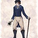 Sir Aubrey Granthorpe - Regency Fashion Illustration by Shakoriel