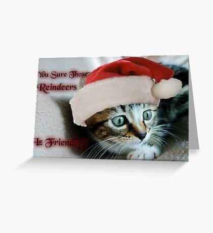 Reindeerz Greeting Card