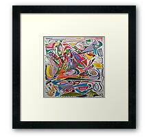 Cesar Manrique Moments Framed Print
