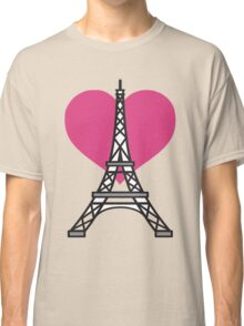 I Love Paris Classic T-Shirt