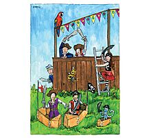 KMAY Hoodkid Pirates Play Photographic Print