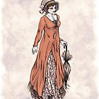 Miss Phoebe Churcham - Regency Fashion Illustration by Shakoriel