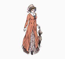 Miss Phoebe Churcham - Regency Fashion Illustration Womens Fitted T-Shirt