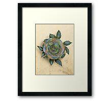 The Friendship Rose I Framed Print