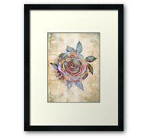 The Friendship Rose II Framed Print