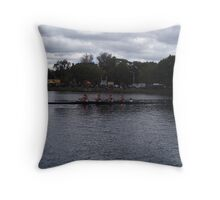 Head of the Charles 1 Throw Pillow