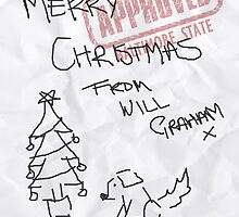 SADDEST CHRISTMAS CARD EVER by woodian