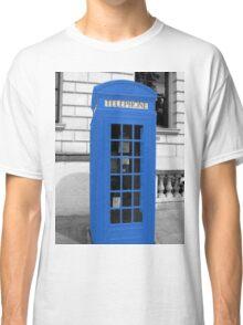 Blue Phonebox  Classic T-Shirt