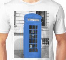 Blue Phonebox  Unisex T-Shirt