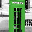 Green Phonebox by pda1986