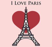 I Love Paris Kids Clothes
