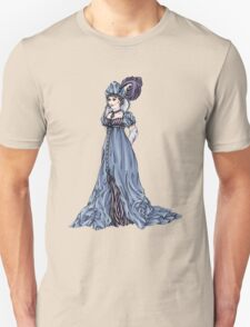 The Dowager Marchioness of Lavington - Regency Fashion Illustration Unisex T-Shirt