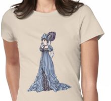 The Dowager Marchioness of Lavington - Regency Fashion Illustration Womens Fitted T-Shirt